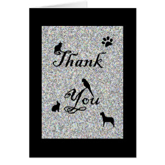Thank You for Your Business Veterinarian Card