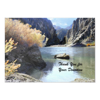 Thank You for Your Donation, Beautiful Scenery Card