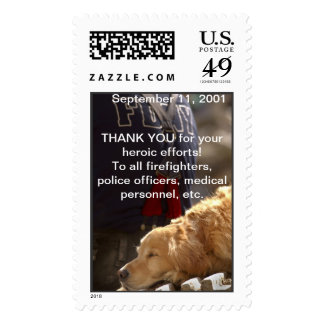 Thank you for your heroic efforts! stamp