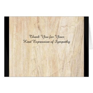 Thank You for Your Kind Expression of Sympathy Card