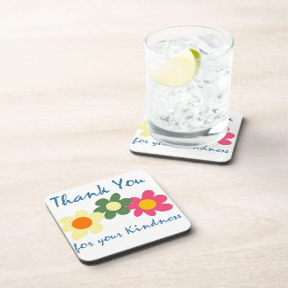 Thank You For Your Kindness Coaster