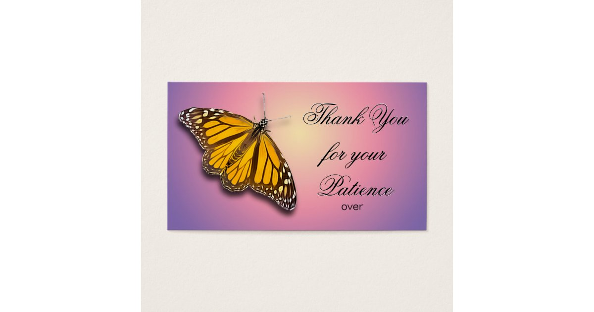 Thank You For Your Patience Zazzle Com Or thank you for your patience somebody argued with me that patient word is used for someone who is hospitalized and it is not appropriate to 8 years ago. thank you for your patience zazzle com