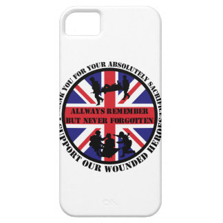 Thank you for your Sacrifice UK Soldiers iPhone SE/5/5s Case