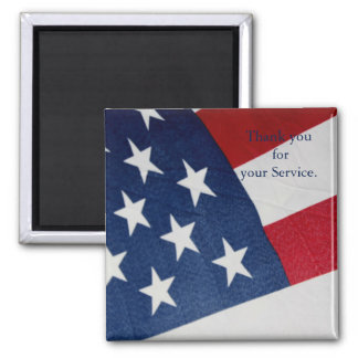 Thank you for your Service Armed Forces Magnet