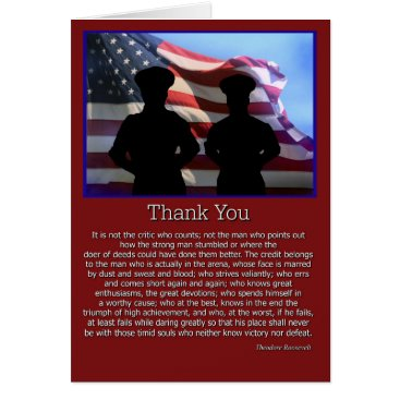 Thank You for your Service Card