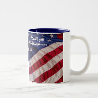 Thank you for your service mug