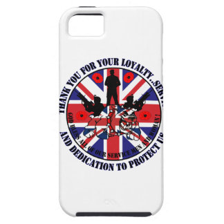 Thank you for your service UK Soldiers iPhone SE/5/5s Case