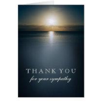 Thank You For Your Sympathy | Sun Over the Ocean