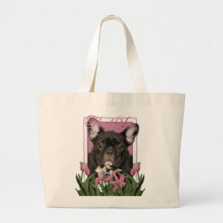 Thank You - French  Bulldog - Teal Bags