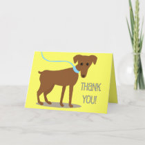 Thank you! From Dog Thank You Card