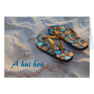 Thank You from the Family of Beach Shoes Card