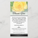 "Thank You Funeral Yellow Rose Words Cannot Express<br><div class=""desc"">Thank You Funeral Yellow Rose - Words Cannot Express  Customize with Your Text JULIEAGIFTS.COM</div>"