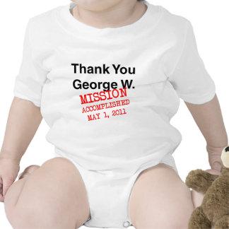 Thank You George W Baby Bodysuits