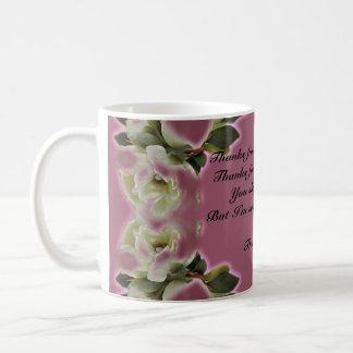 Thank You Gift -  Mug - Vintage Dusty Rose