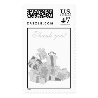 Thank you! Gift Postage Stamp