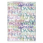Thank You Gifts Greeting Card