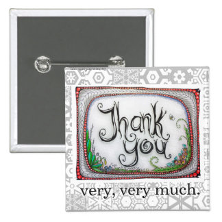 Thank You! Give this Square Pin