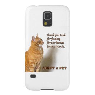 Thank You God Cat Prayer Photo Design Galaxy S5 Cases