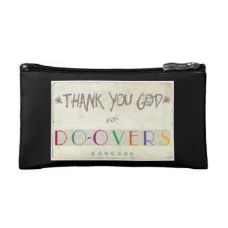 Thank You God for Do-Overs Cosmetic Bag