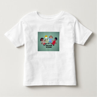 Thank You God for friends! Toddler T-shirt