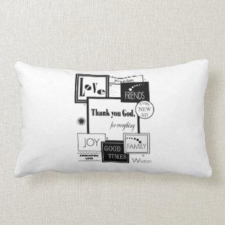 Thank You God Pillow