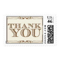 Thank You - gold by Ceci New York Postage