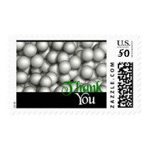 Thank You Golf Balls Postage
