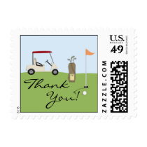 Thank You Golf Small Stamps