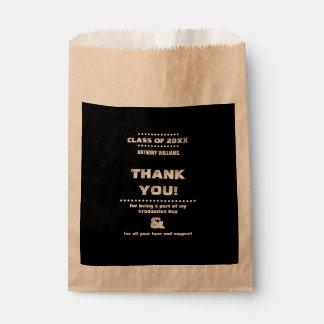Thank You | Graduation Party Custom Favor Bags