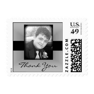 Thank you Graduation Postage Stamp