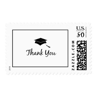 Thank You Graduation Postage Stamps