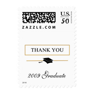 Thank You Graduation - Small Postage Stamps
