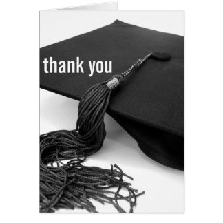 Thank You : Graduation Stationery Note Card