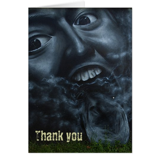 Thank you - graffiti cards