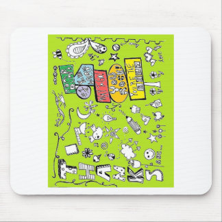 Thank You Greeting Card Mouse Pad