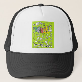 Thank You Greeting Card Trucker Hat