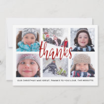 Thank You Grid   Thank You Photo Card