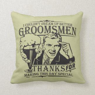 Thank You Groomsmen Pillows