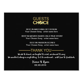 Thank You Guest Cards