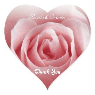Thank You Heart Sticker sticker