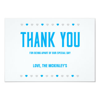 Thank You Hearts Soon to Be Mr. & Mrs. - Customize Card