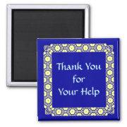 Thank You Helper magnet MM20 magnet