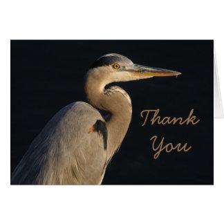 Thank You Heron Card