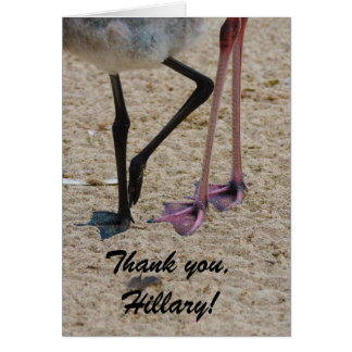 Thank You Hillary Learning to Run Card