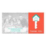 thank you home key card