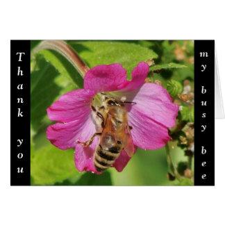 Thank You Honey Bee Card