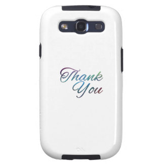 Thank You Images Galaxy SIII Cases