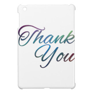 Thank You Images iPad Mini Covers