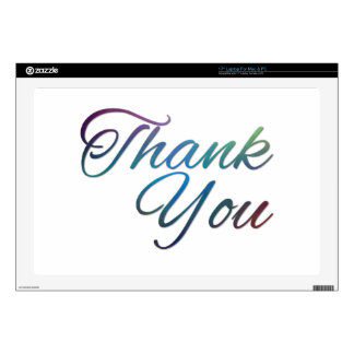 Thank You Images Skin For Laptop