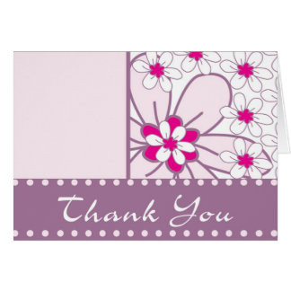 Thank You in Bloom Greeting Card